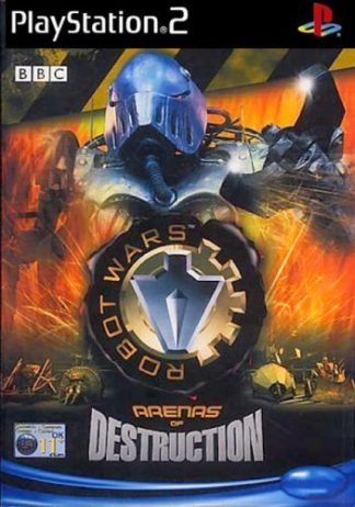 Robot Wars - Arenas of Destruction - Sony Playstation 2 - PS2