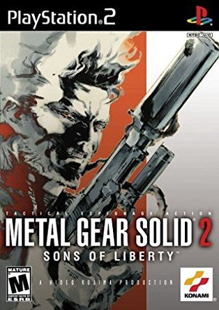 Metal Gear Solid 2: Sons of Liberty - Sony Playstation 2 - PS2