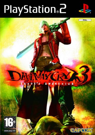 Devil may cry 3: Dantes Awakening - Sony Playstation 2 - PS2