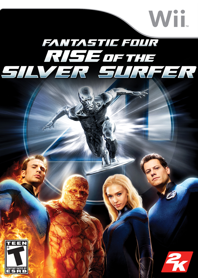 Fantastic Four Rise Of The Silver Surfer - Nintendo Wii