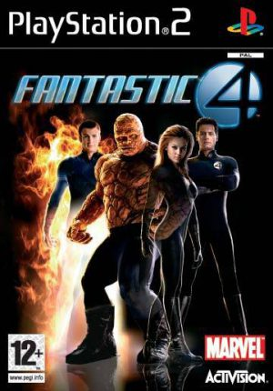 Fantastic Four - Sony Playstation 2 - PS2