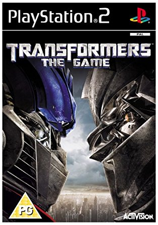 Transformers The Game - Sony Playstation 2 - PS2