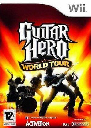 Guitar hero: World tour - Nintendo Wii