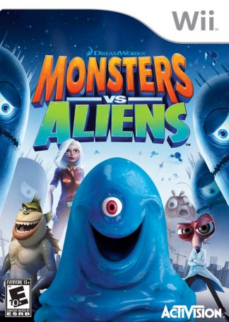 Monsters VS Aliens - Wii