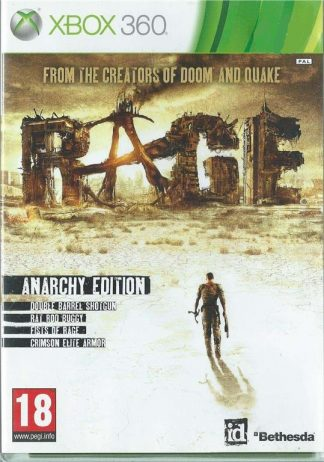 Rage: Anarchy Edition - Microsoft Xbox 360