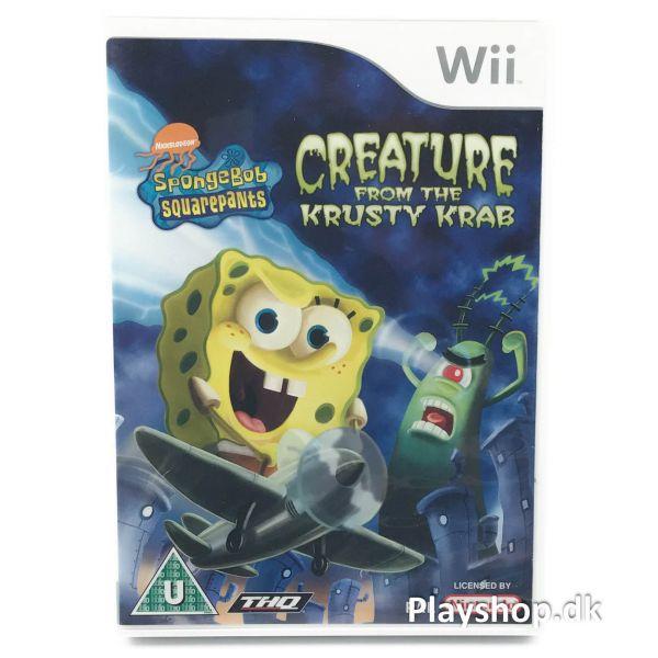 SpongeBob SquarePants: Creature from the Krusty Krab - Wii