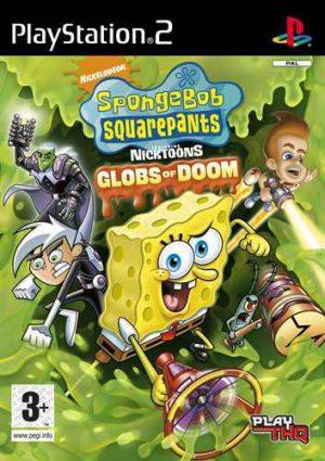 Svampbob Fyrkant featuring Nicktoons: Globs of Doom PS2