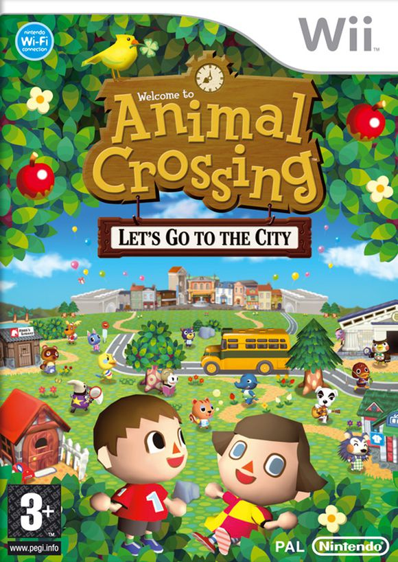 Animal crossing lets go to the city - Wii