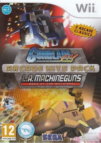 Gunblade NY & L.A. Machineguns - Arcade Hits Pack - Wii