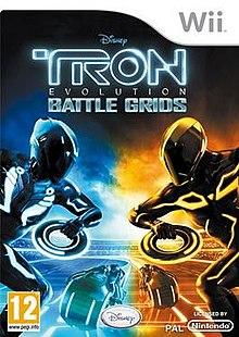 Tron Evolution: Battle Grinds - Wii
