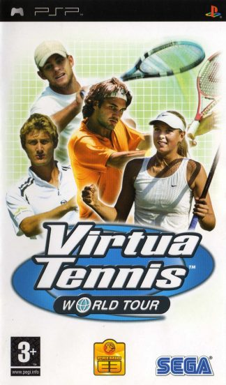 Virtua tennis: World tour - Sony Playstation Portable - PSP