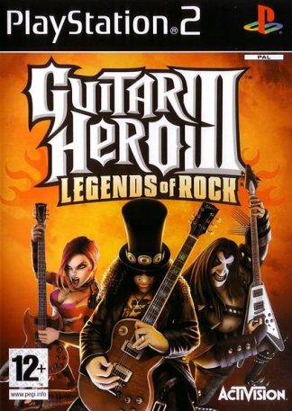 Guitar hero III: Legends of rock - Sony Playstation 2 - PS2