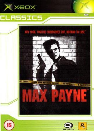 Max Payne - Classics - Xbox