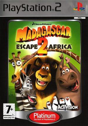 Madagascar: Escape 2 Africa - Platinum PS2