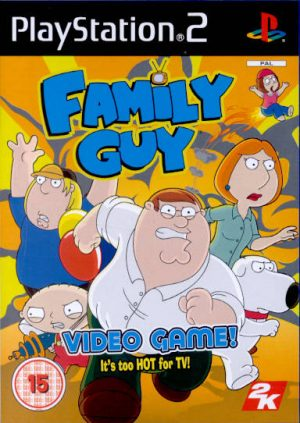 Family Guy Video Game - Sony Playstation 2 - PS2