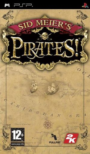 Sid Meiers: Pirates - Sony Playstation PSP