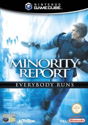 Minority Report: Everybody runs - Nintendo Gamecube - GC