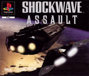 Shockwave Assault - Sony Playstation 1 - PS1