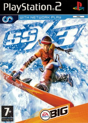 SSX 3 - Sony Playstation 2 - PS2