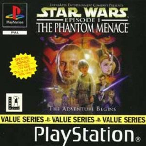Star Wars Episode 1: The Phantom Menace - Value series - PS1