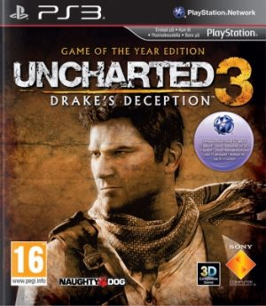 Uncharted 3: Drake's Deception - Game of the Year Edition - Sony Playstation 3 - PS3