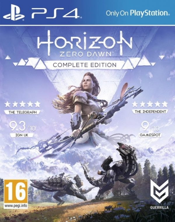 Horizon Zero Dawn - Complete Edition - Playstation hits - Sony Playstation 4 - PS4