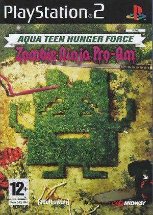 Aqua Teen Hunger Force Zombie Ninja Pro-Am - Sony Playstation 2 - PS2