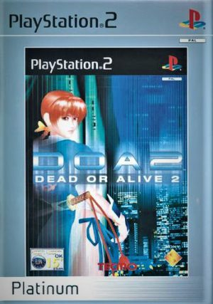 Dead Or Alive 2 - Platinum - Sony Playstation 2 - PS2