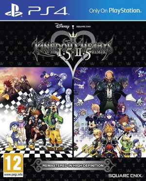 Kingdom Hearts HD I.5 + II.5 Remix - Sony Playstation 4 - PS4