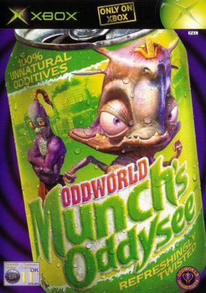 oddworld munchs oddysee Xbox