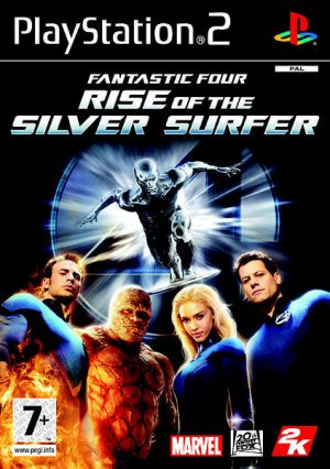 Fantastic Four Rise Of The Silver Surfer - PS2