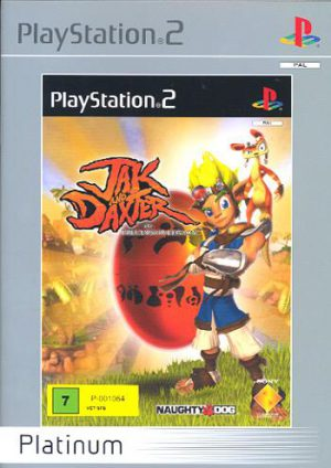Jak and Daxter: The Precursor Legacy - Platinum - Sony Playstation 2 - PS2