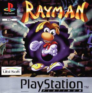 Rayman - Platinum - PS1 - Playstation 1