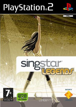 Singstar: Legends - PS2