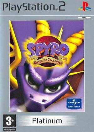 Spyro: Enter the Dragonfly - Sony Playstation 2 - PS2