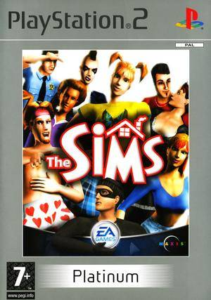 The Sims - Platinum - PS2