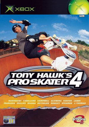 Tony Hawks Pro Skater 4 - Microsoft Xbox