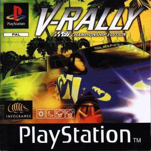 V-Rally: 97 - Championship Edition - Sony Playstation 1 - PS1