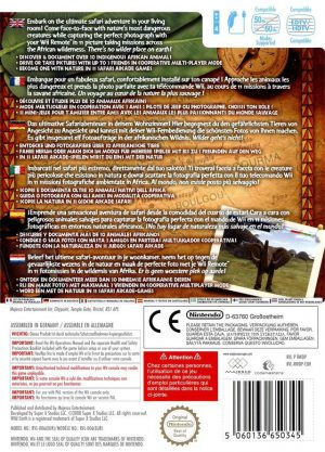 Wild Earth African Safari - Wii bak