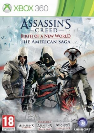 Assassins Creed: Birth of a New World - The American Saga - Xbox 360