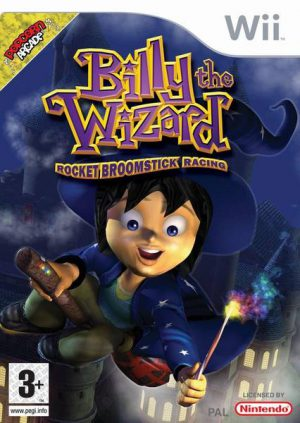 Billy the Wizard: Rocket Broomstick Racing - Nintendo Wii