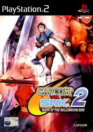 Capcom vs. SNK 2: Mark of the Millenium 2001 - PS2