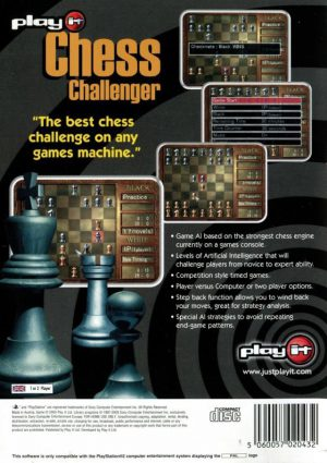 Chess Challenger - PS2 bak