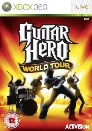 Guitar hero world tour Xbox 360