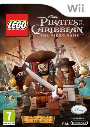 Lego Pirates of the Caribbean: The Video Game - Nintendo Wii