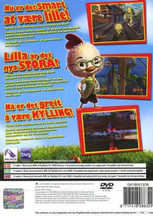 Lilla Kycklingen - Playstation 2 - PS2 bak
