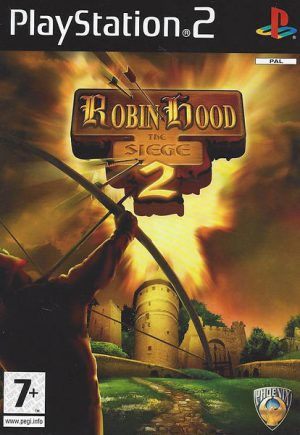 Robin Hood 2: The Siege - Playstation 2 - PS2