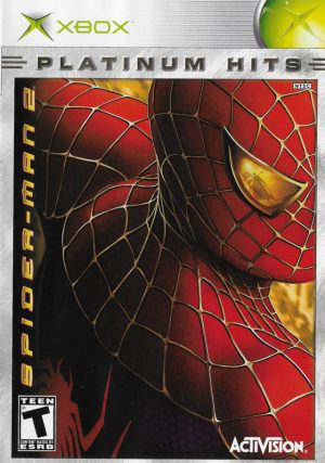 Spider-Man 2 - Platinum hits - Xbox NTSC