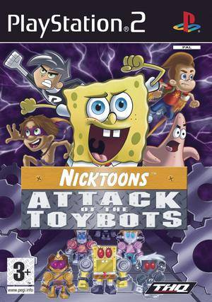 Spongebob and Friends: Attack of the Toybots - PS2