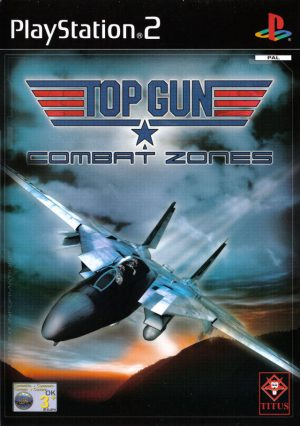 Top Gun Combat Zones - Playstation 2 - PS2